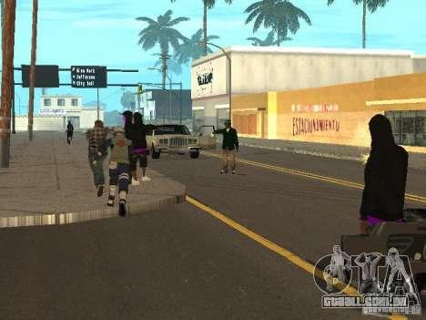 Hatake Kakashi From Naruto para GTA San Andreas quinto tela