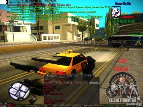 Sobeit for CM v0.6 para GTA San Andreas quinto tela