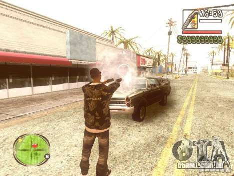 Wild Wild West para GTA San Andreas sexta tela