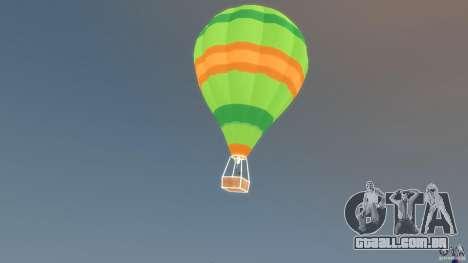 Balloon Tours option 10 para GTA 4 esquerda vista