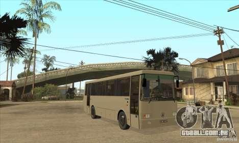 LAZ 42078 (forro-10) para GTA San Andreas vista traseira
