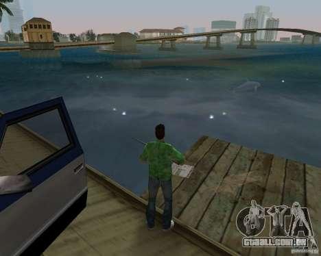 Água nova, jornais, folhas, lua para GTA Vice City nono tela