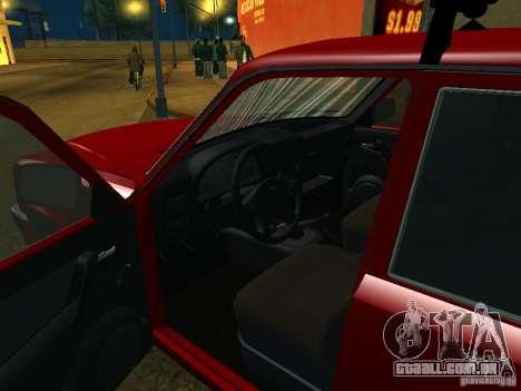 GAZ 3110 para GTA San Andreas vista traseira