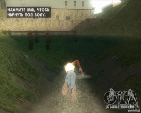 Minhas configurações ENBSeries HD para GTA San Andreas quinto tela