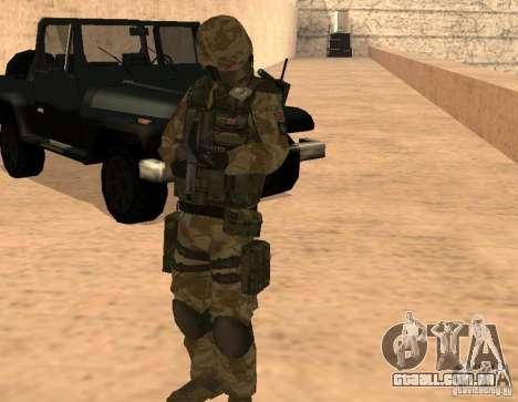 Ranger Army Skin Mod para GTA San Andreas terceira tela