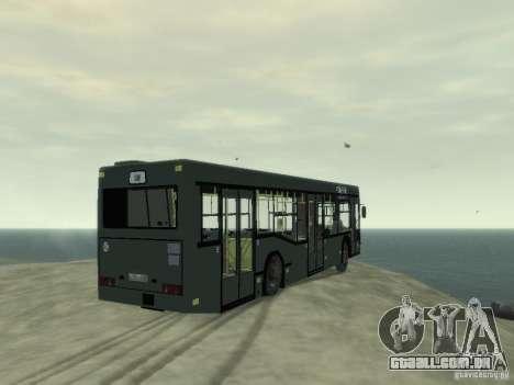 MAZ 103 ônibus para GTA 4 vista direita