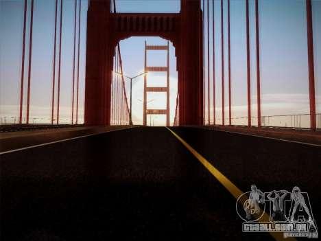 New Roads v1.0 para GTA San Andreas por diante tela