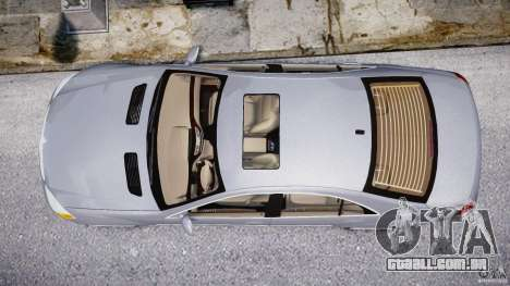 Mercedes-Benz S-Class 2007 para GTA 4 motor