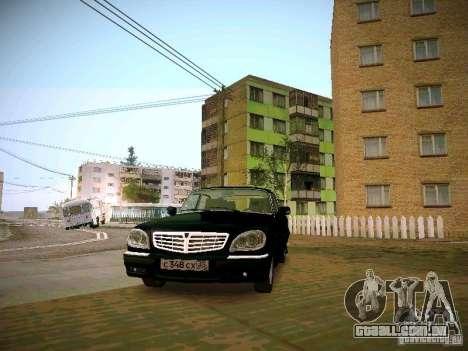 GAZ Volga 31105 S60 para GTA San Andreas vista traseira