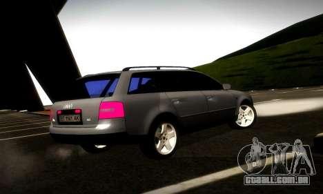Audi A6 C5 Avant 3.0 para GTA San Andreas vista direita