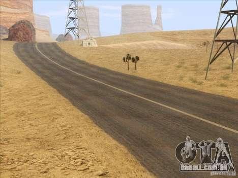 HQ Country Desert v1.3 para GTA San Andreas por diante tela