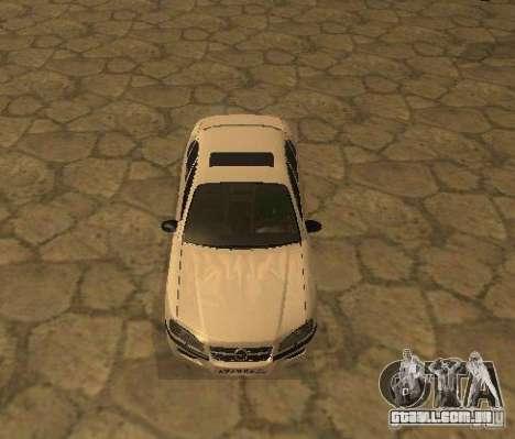 Opel Omega B 1997 para GTA San Andreas esquerda vista