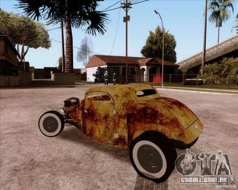 Ford Rat Rod para GTA San Andreas vista traseira