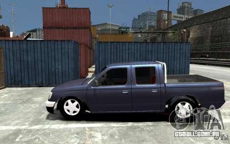 Nissan Pickup V 2005 para GTA 4 esquerda vista