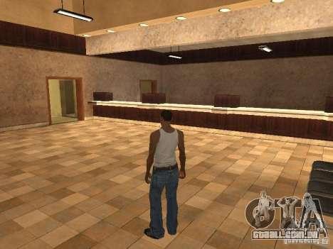 A entrada para o Hospital de Los Santos para GTA San Andreas segunda tela