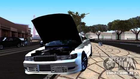 Toyota Chaser Tourer V para GTA San Andreas traseira esquerda vista