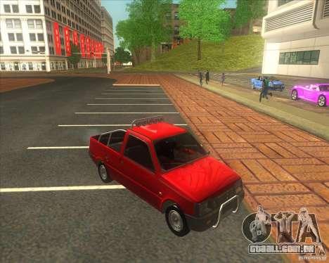SEAZ Oka Pickup para GTA San Andreas vista direita