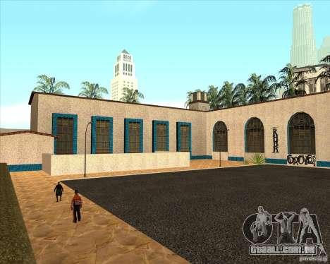 Nova estação Unity para GTA San Andreas terceira tela