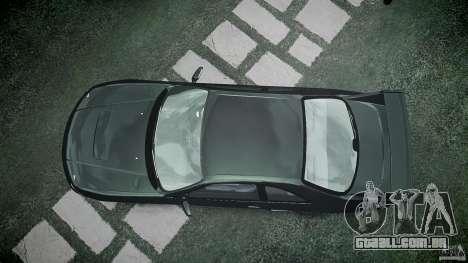 Nissan Skyline R33 para GTA 4 vista superior