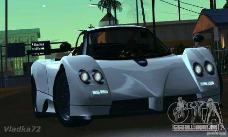 Pagani Zonda EX-R para GTA San Andreas