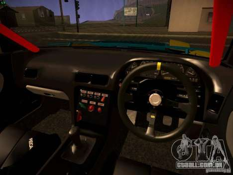Nissan Onevia 2JZ para GTA San Andreas vista traseira