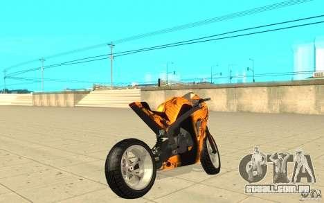 DoubleT Custom para GTA San Andreas traseira esquerda vista