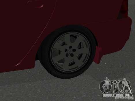 Toyota Corolla Sedan para GTA San Andreas vista traseira