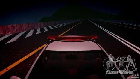 Volkswagen Gol G5 PMSP [ELS] para GTA 4 vista inferior