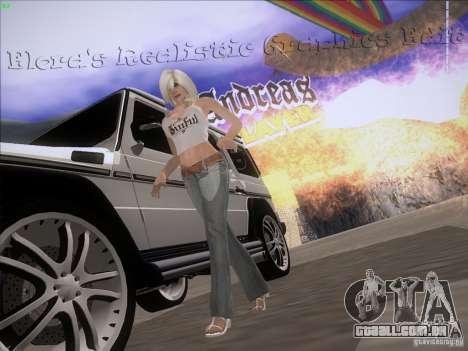 Eloras Realistic Graphics Edit para GTA San Andreas