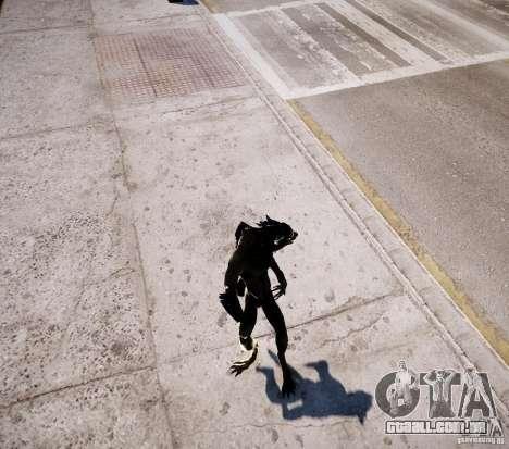 Werewolf from Skyrim para GTA 4 oitavo tela