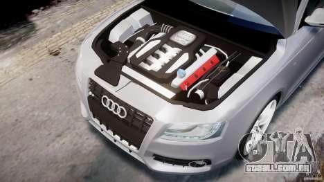 Audi S5 v1.0 para GTA 4 vista de volta
