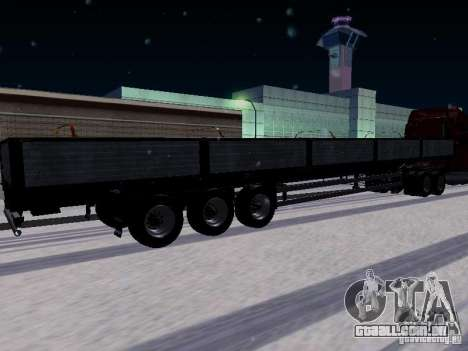 Reboque Tonar para GTA San Andreas