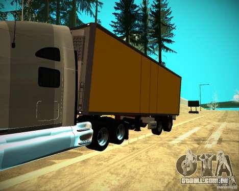 O reboque Krone Biedra para GTA San Andreas vista direita