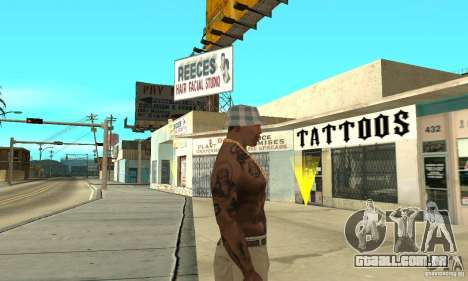 Tattoo mod para GTA San Andreas terceira tela