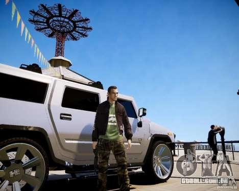 CoD Black Ops Hudson para GTA 4 sexto tela