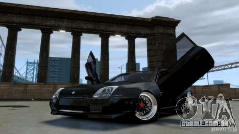 Honda Prelude SiR VERTICAL Lambo Door Kit Carbon para GTA 4
