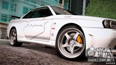 FM3 Wheels Pack para GTA San Andreas sexta tela