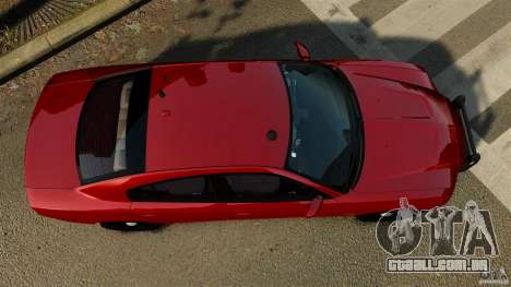 Dodge Charger RT Max FBI 2011 [ELS] para GTA 4 vista direita