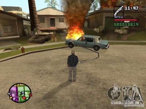 Overdose effects V1.3 para GTA San Andreas sexta tela