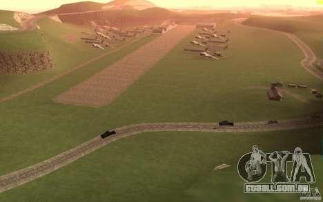 New desert para GTA San Andreas por diante tela