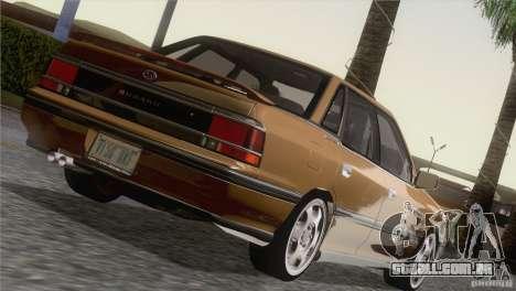Subaru Legacy RS para GTA San Andreas vista traseira