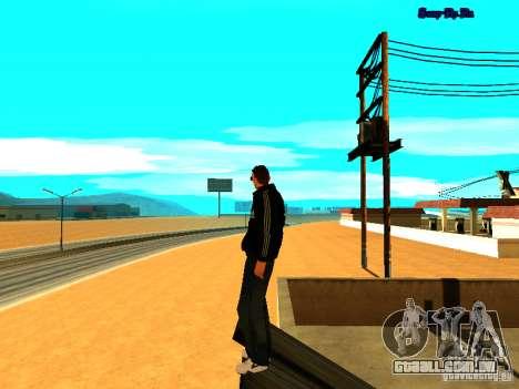 Novo skin para Gta San Andreas para GTA San Andreas terceira tela