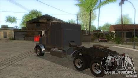 Fantasma do GTA IV para GTA San Andreas traseira esquerda vista