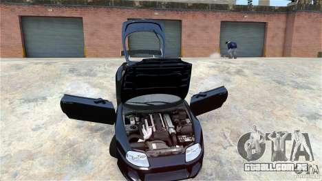Toyota Supra RZ 1998 v 2.0 para GTA 4 vista interior