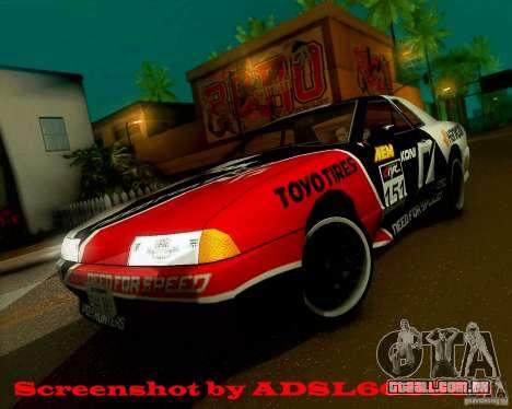 Need for Speed Elegy para GTA San Andreas