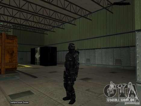 New Army para GTA San Andreas por diante tela