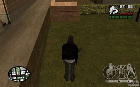 Alex Mercer para GTA San Andreas quinto tela