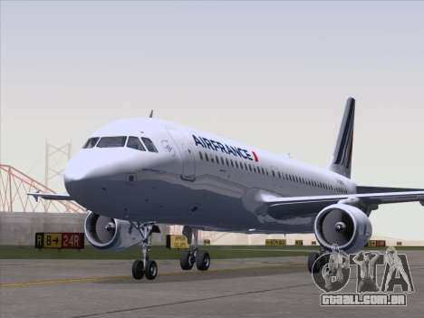 Airbus A320-211 Air France para GTA San Andreas