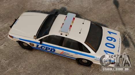 Novo laço cruzador ELS para GTA 4 vista direita