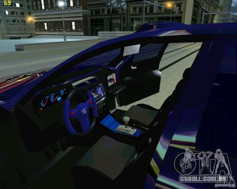 Skoda Octavia III Tuning para vista lateral GTA San Andreas